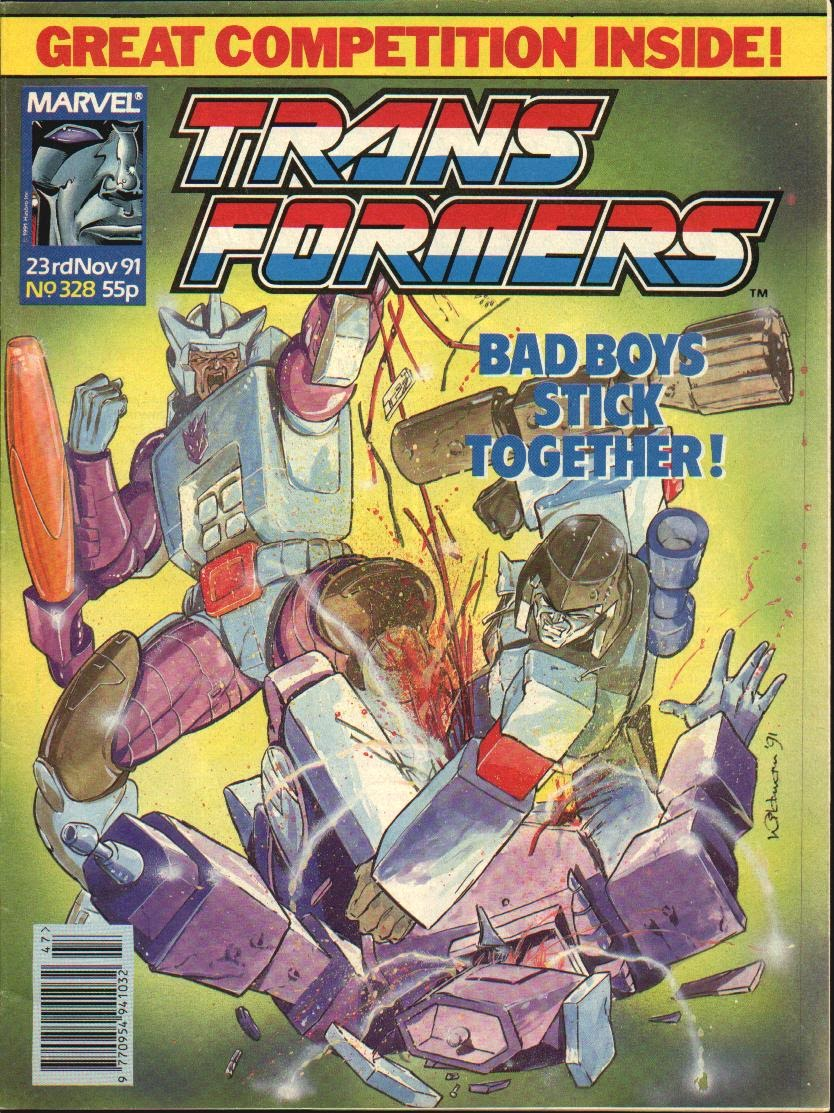The Transformers (UK) 328 Page 1