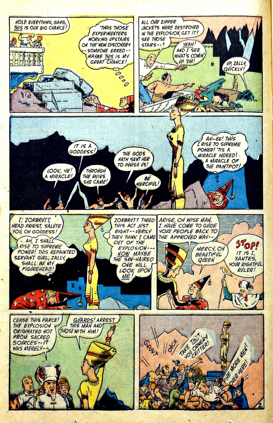 Read online Famous Funnies comic -  Issue #185 - 19