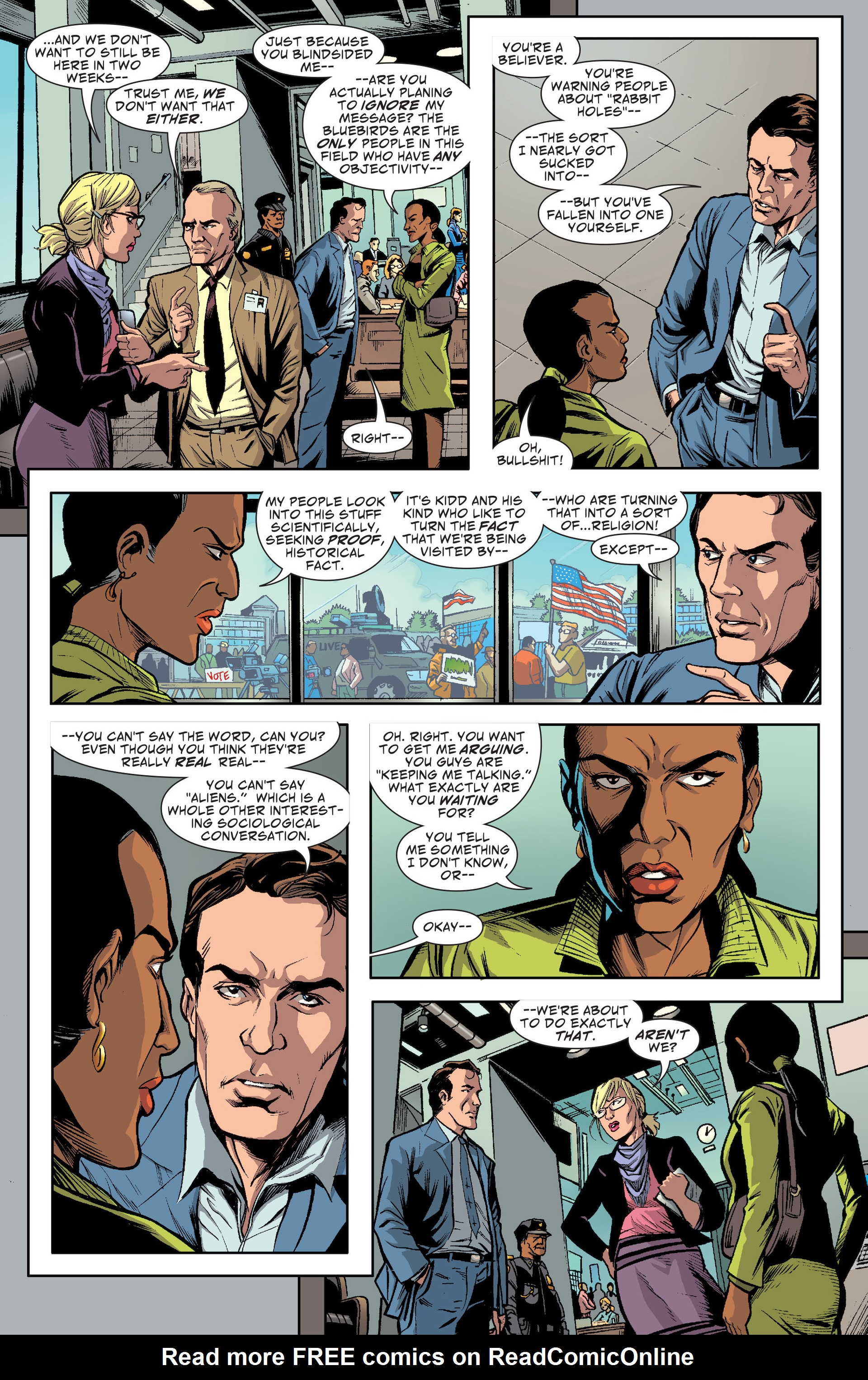 Read online Saucer Country comic -  Issue #13 - 14