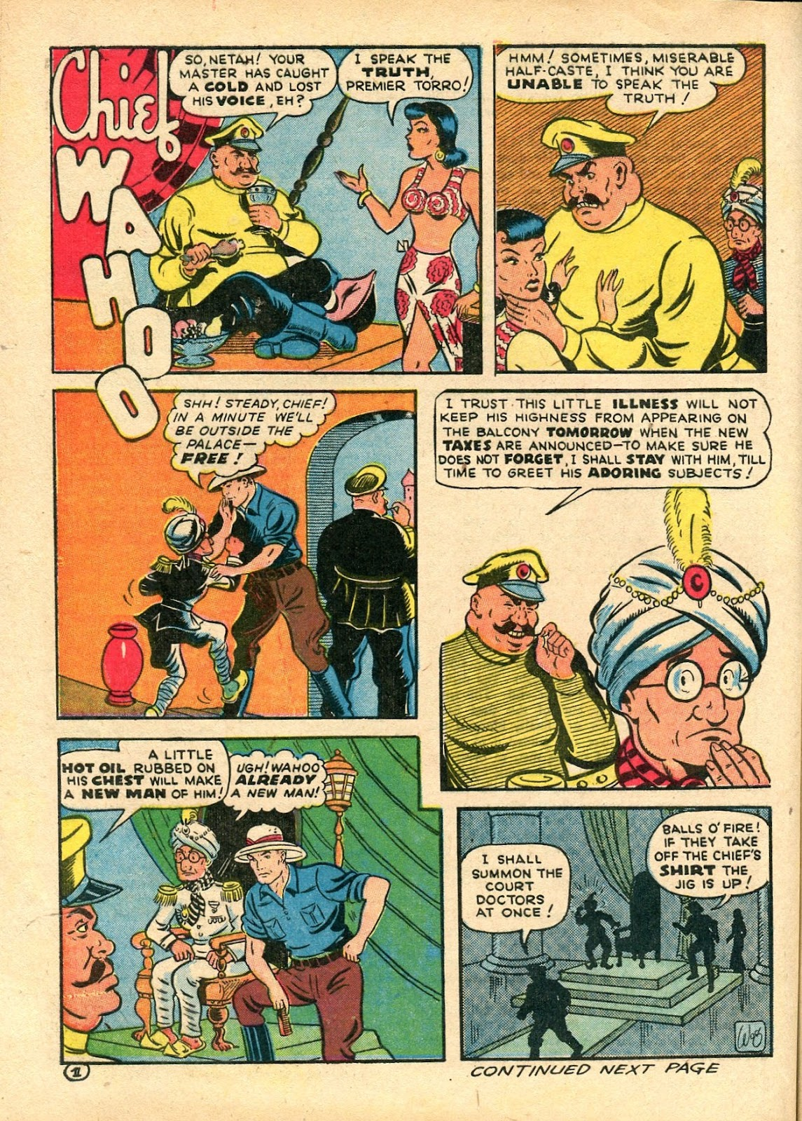 Read online Famous Funnies comic -  Issue #112 - 54