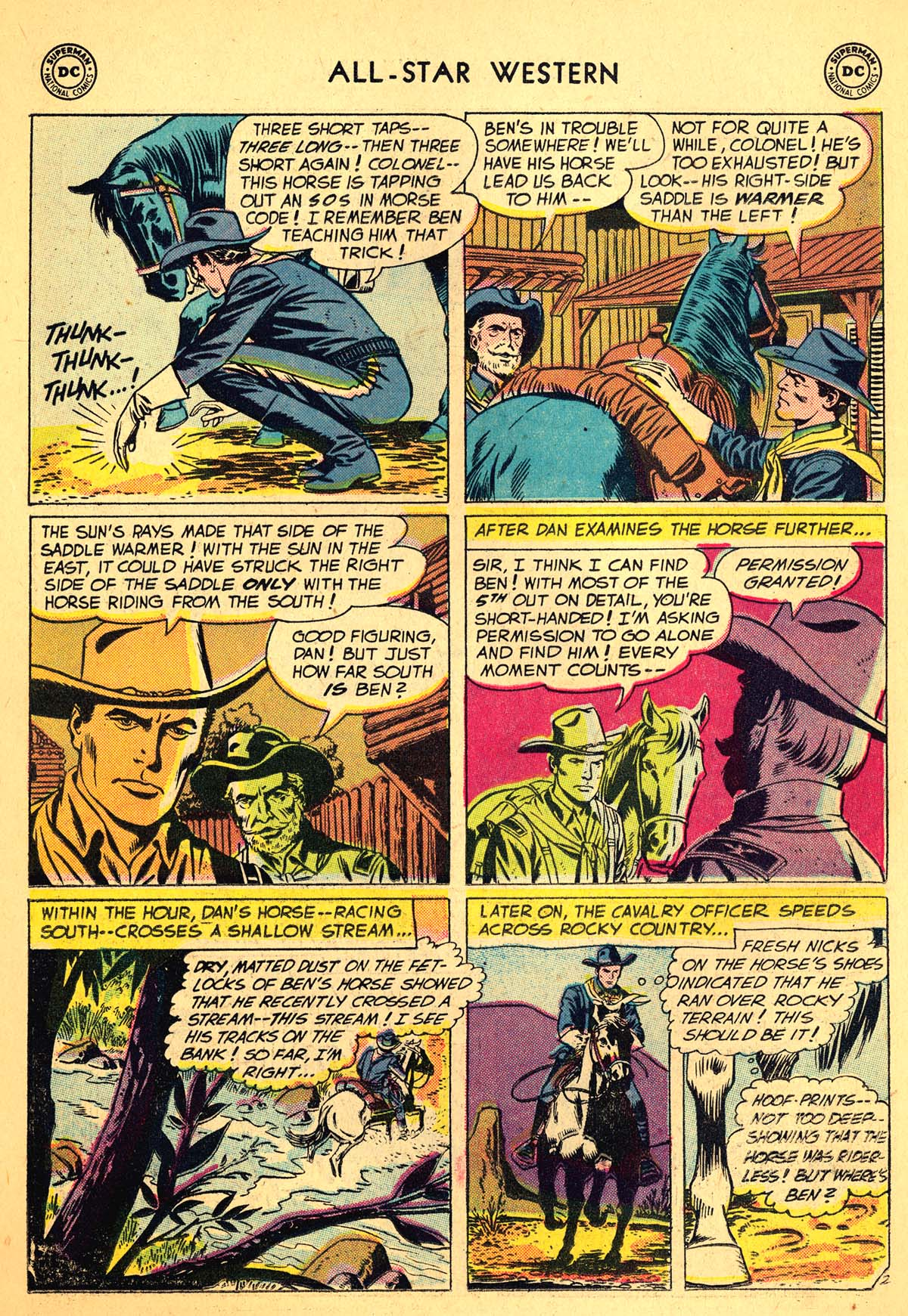 Read online All-Star Western (1951) comic -  Issue #99 - 22