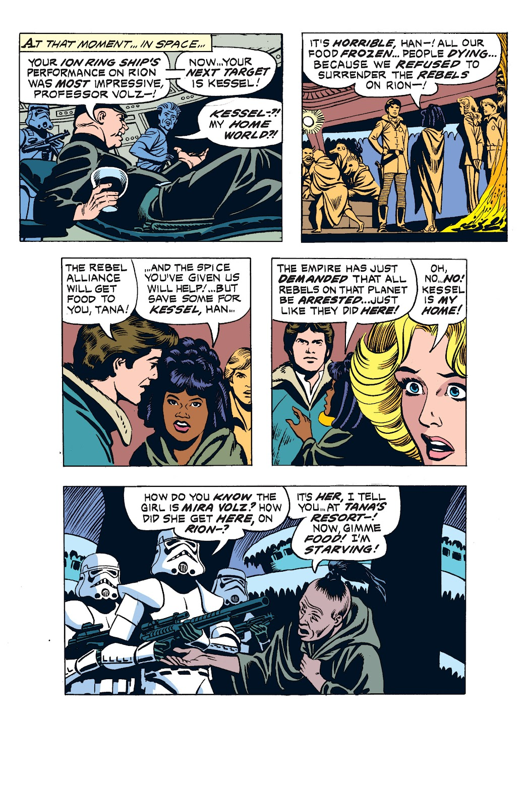 Read online Star Wars Legends: The Newspaper Strips - Epic Collection comic -  Issue # TPB (Part 2) - 85