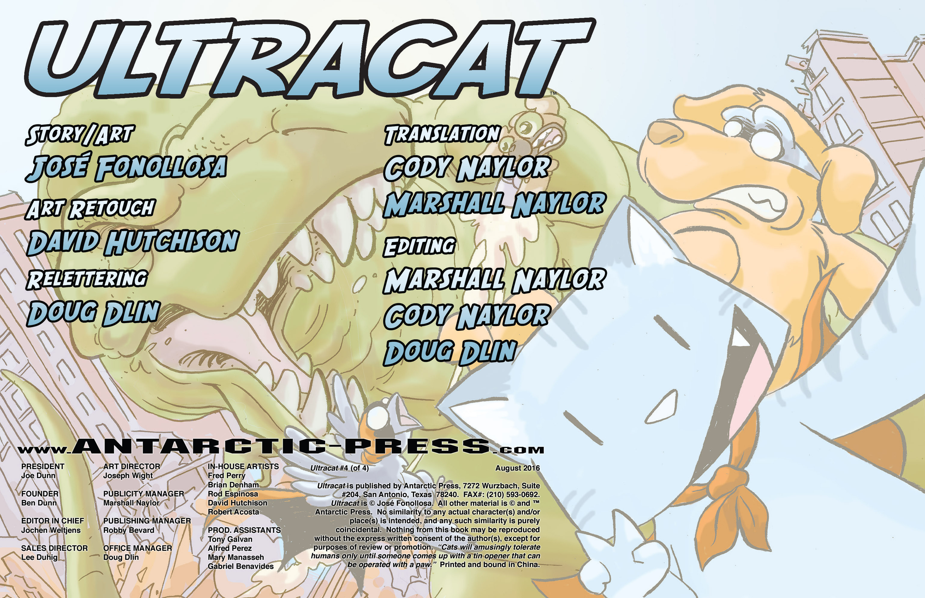 Read online Ultracat comic -  Issue #4 - 2