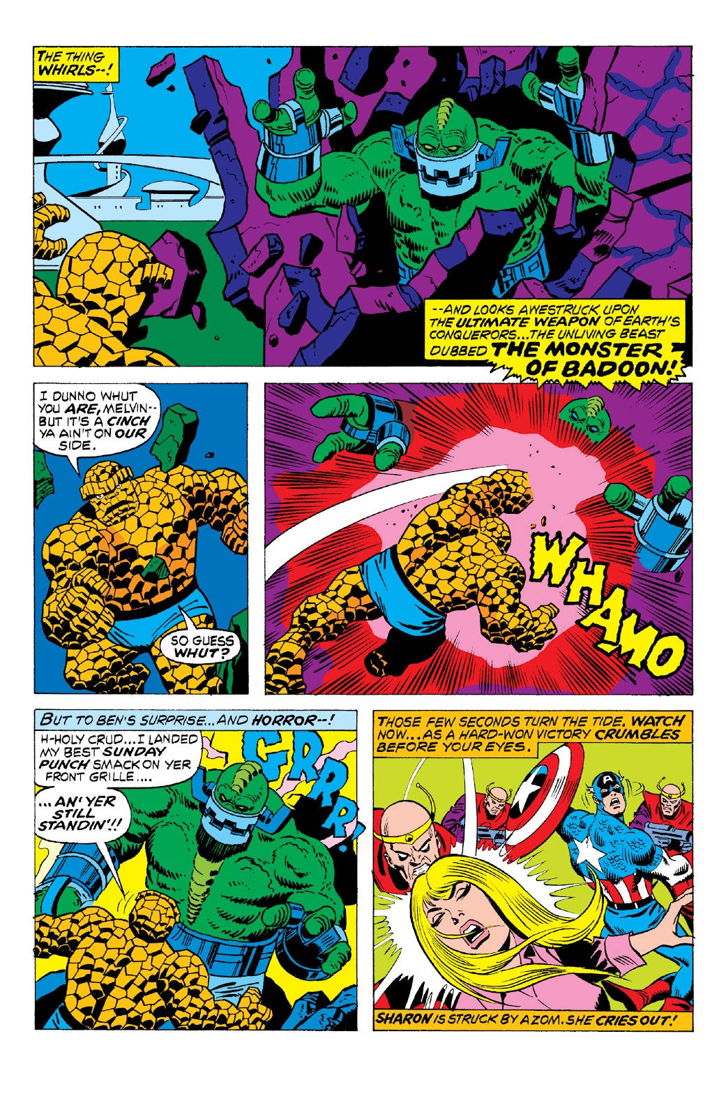Read online Marvel Two-In-One Epic Collection: Cry Monster comic -  Issue # TPB (Part 2) - 21
