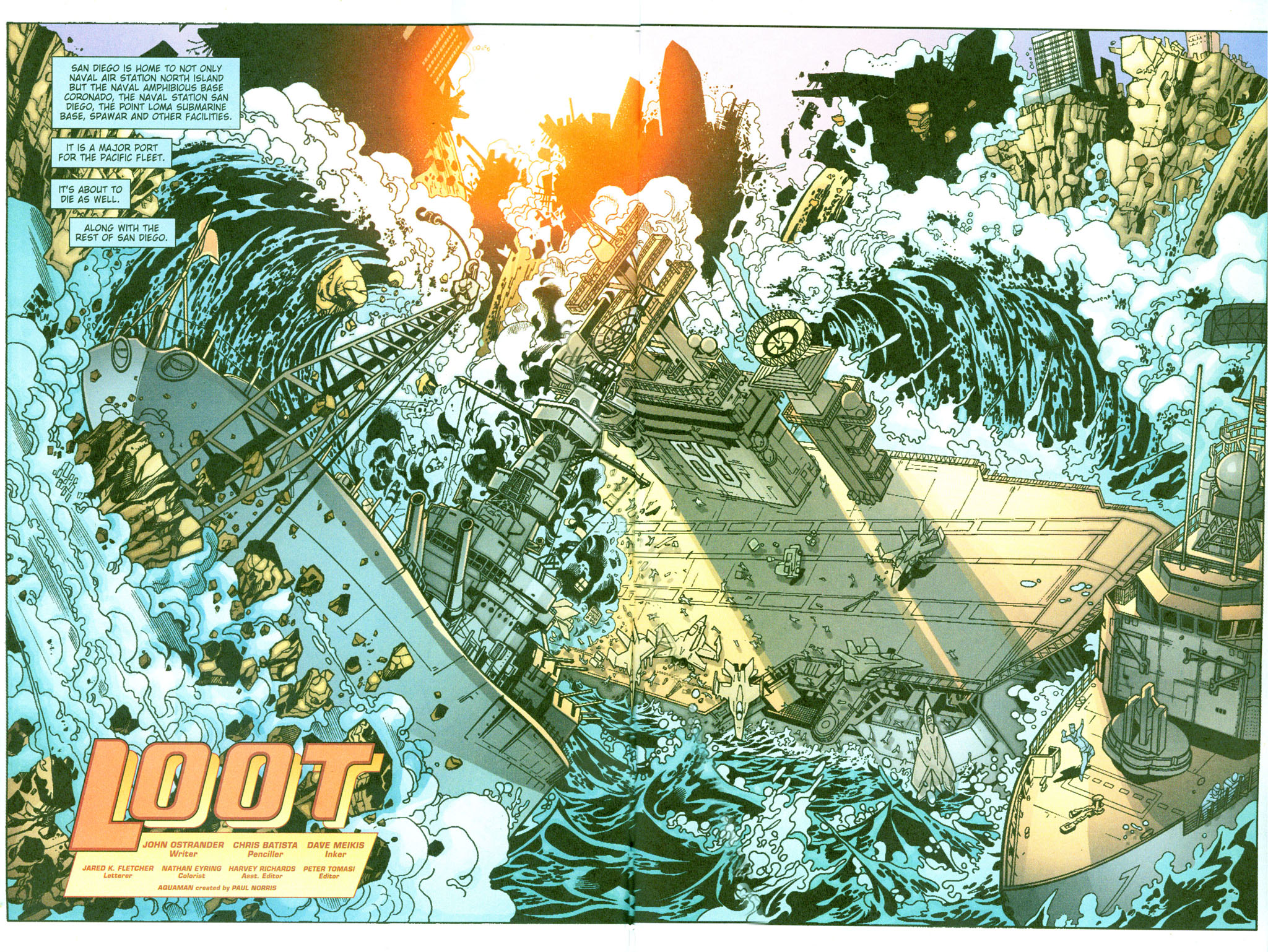 Read online Aquaman (2003) comic -  Issue #23 - 3