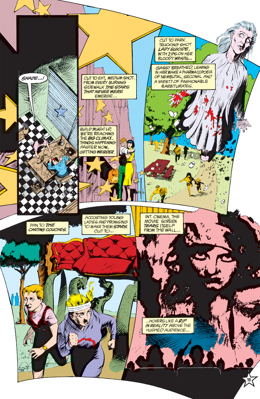Read online Shade, the Changing Man comic -  Issue #6 - 21