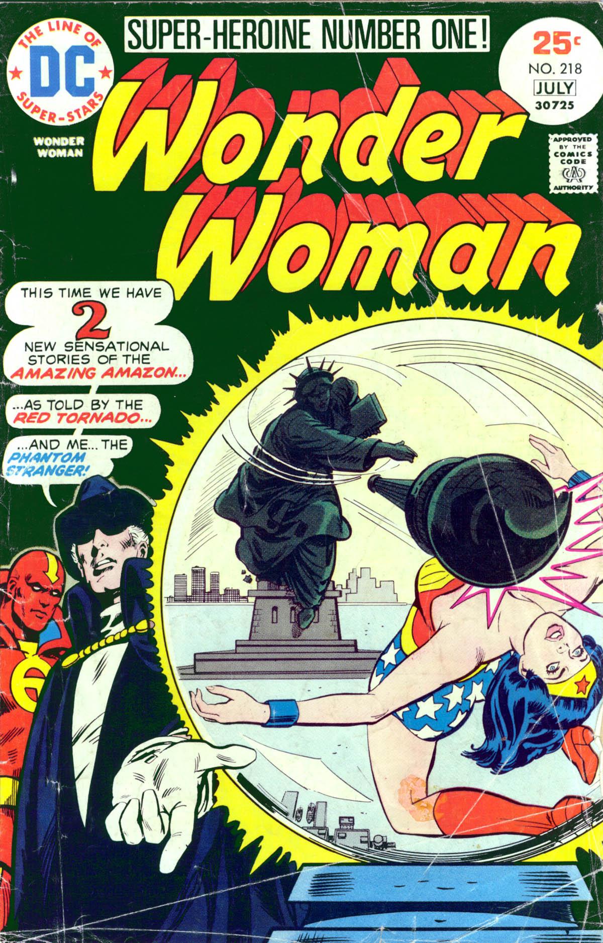 Read online Wonder Woman (1942) comic -  Issue #218 - 1