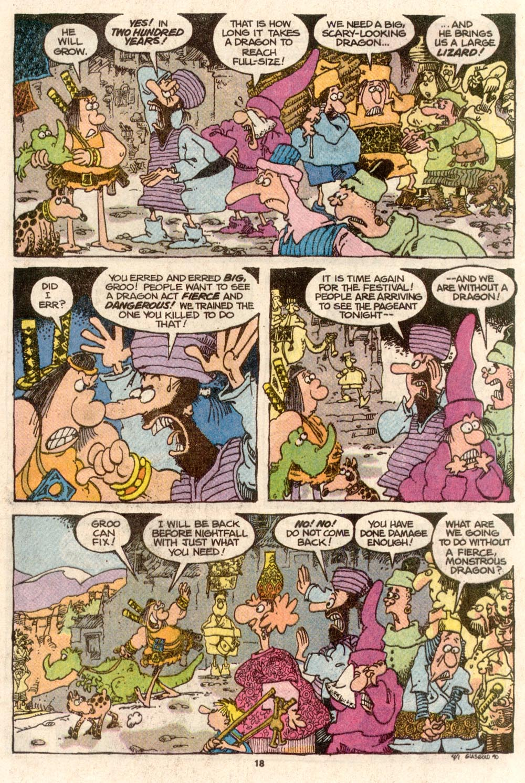 Read online Sergio Aragonés Groo the Wanderer comic -  Issue #67 - 14