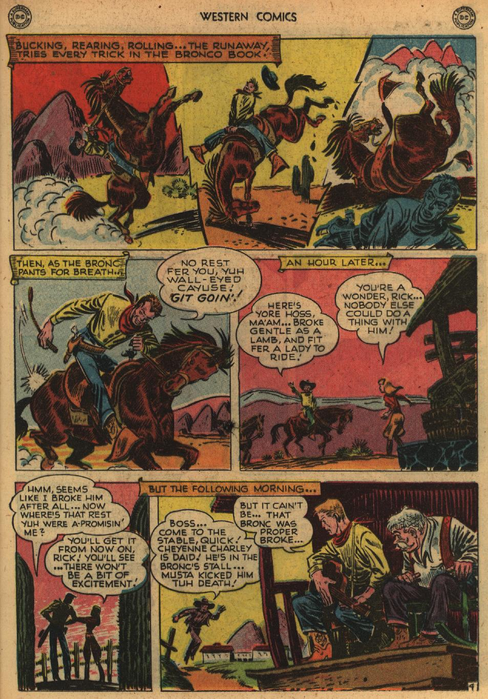 Western Comics issue 1 - Page 17