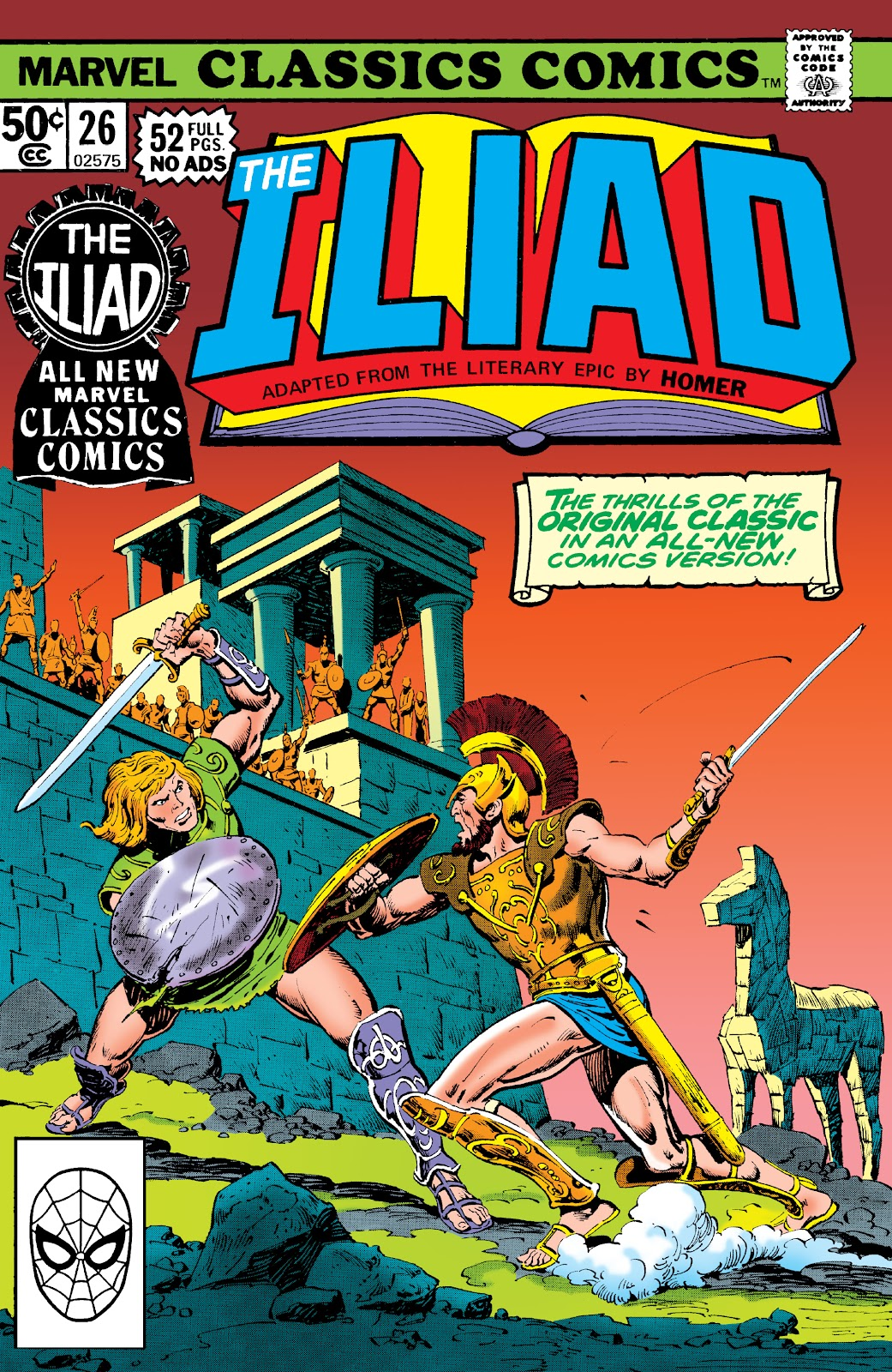 Marvel Classics Comics Series Featuring issue 26 - Page 1