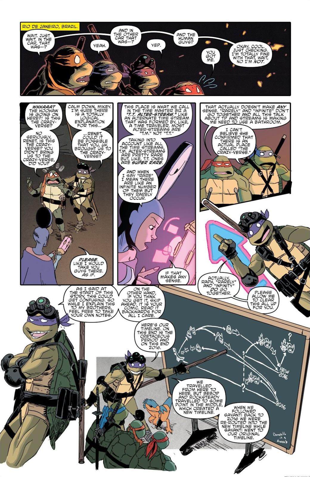 Read online Teenage Mutant Ninja Turtles: The IDW Collection comic -  Issue # TPB 8 (Part 1) - 51
