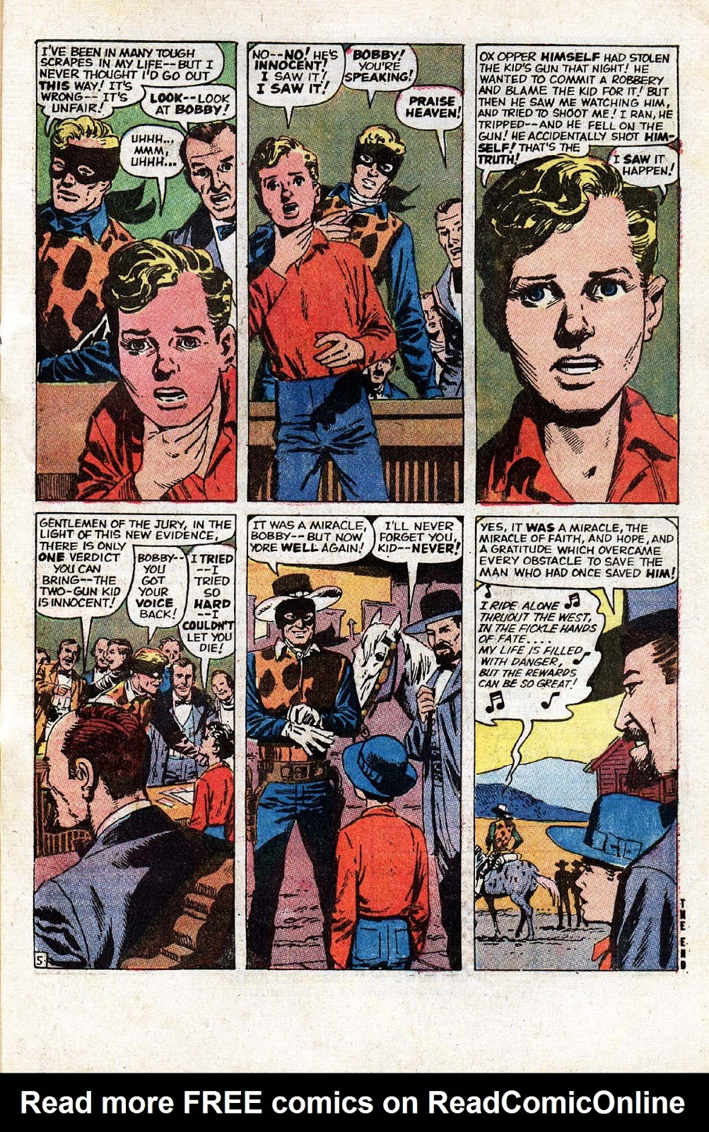 The Mighty Marvel Western issue 14 - Page 56