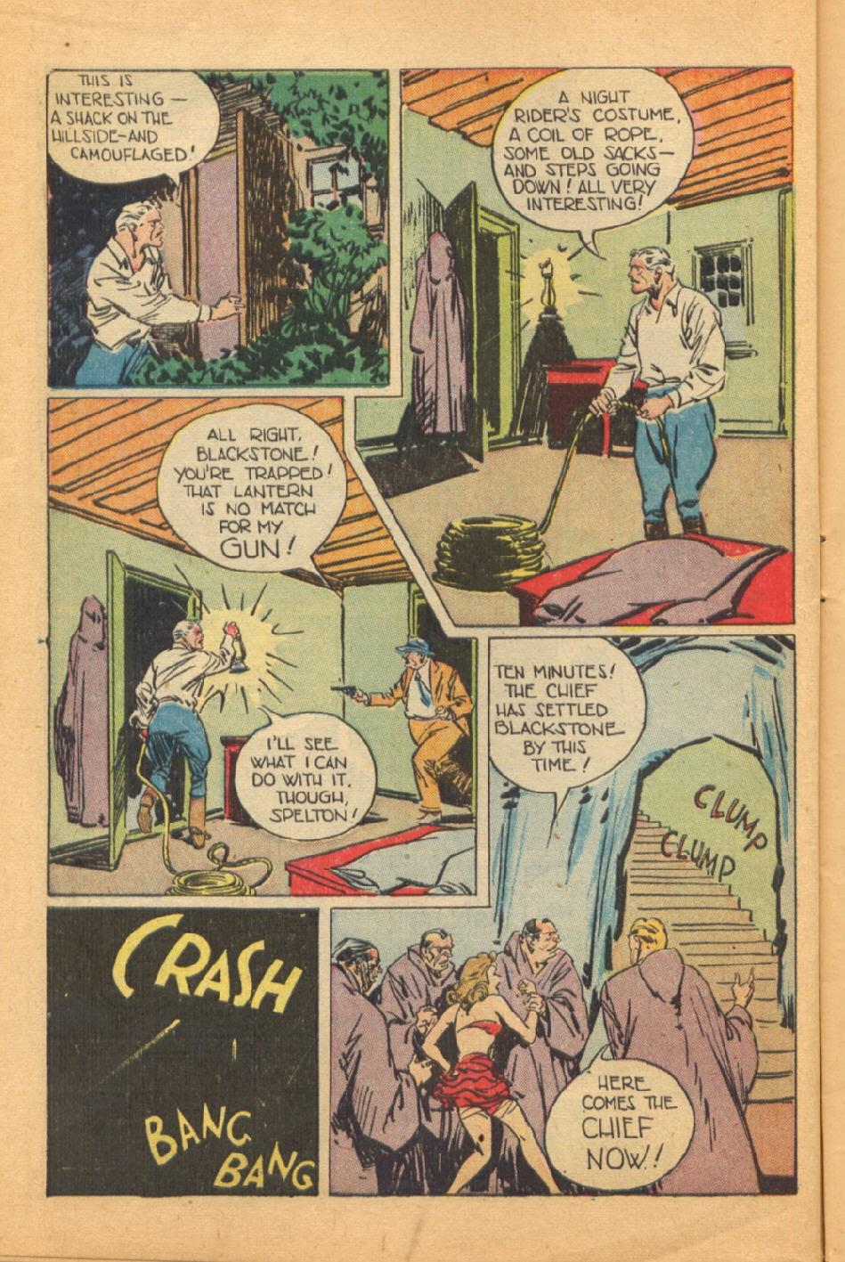 Read online Super-Magician Comics comic -  Issue #44 - 12