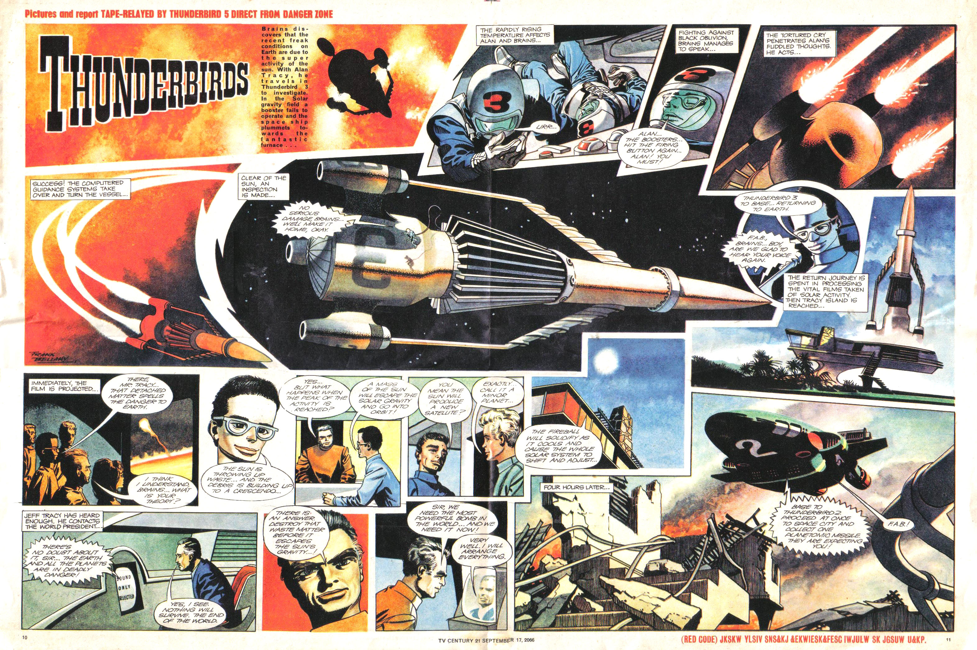 Read online TV Century 21 (TV 21) comic -  Issue #87 - 10