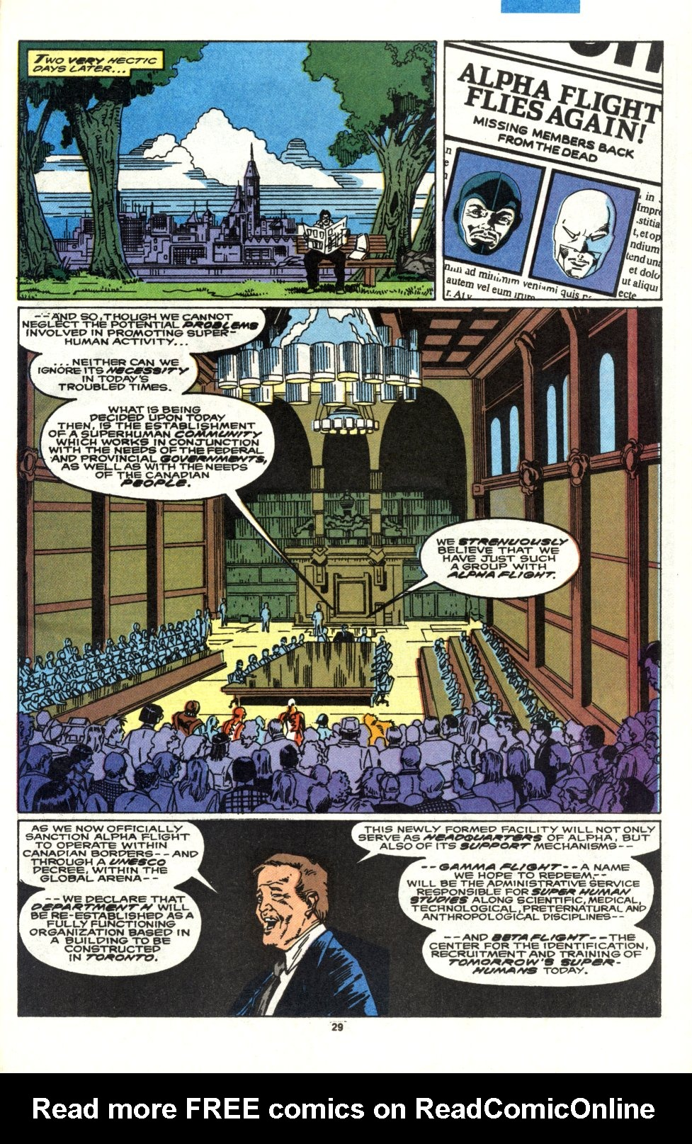 Read online Alpha Flight (1983) comic -  Issue #90 - 24