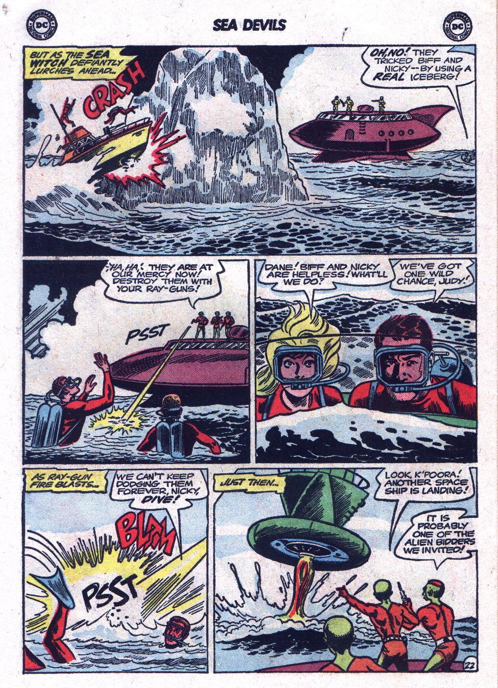 Read online Sea Devils comic -  Issue #17 - 30