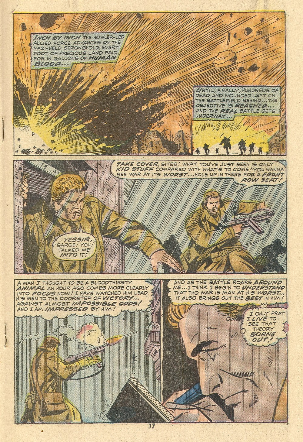 Read online Sgt. Fury comic -  Issue #110 - 19