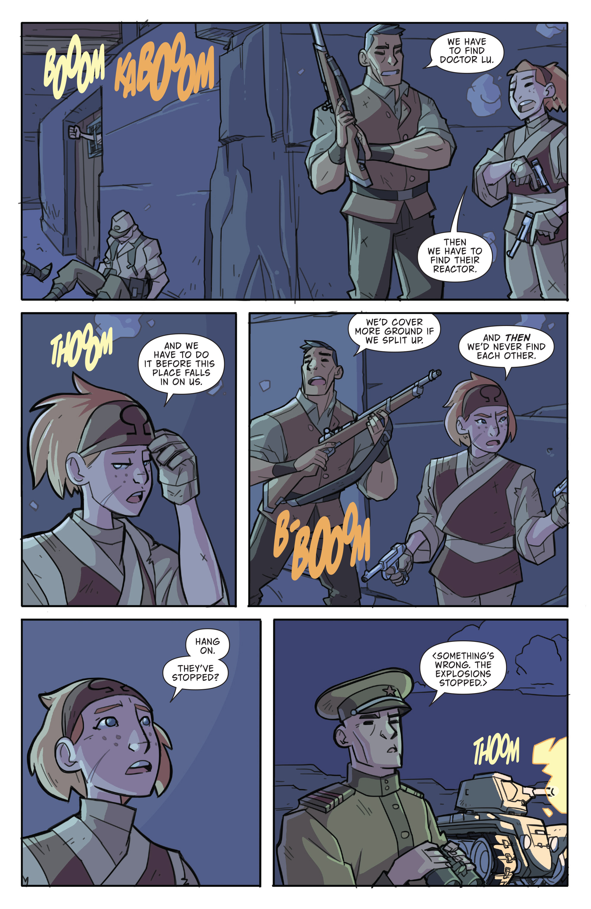 Read online Atomic Robo and the Temple of Od comic -  Issue #4 - 21