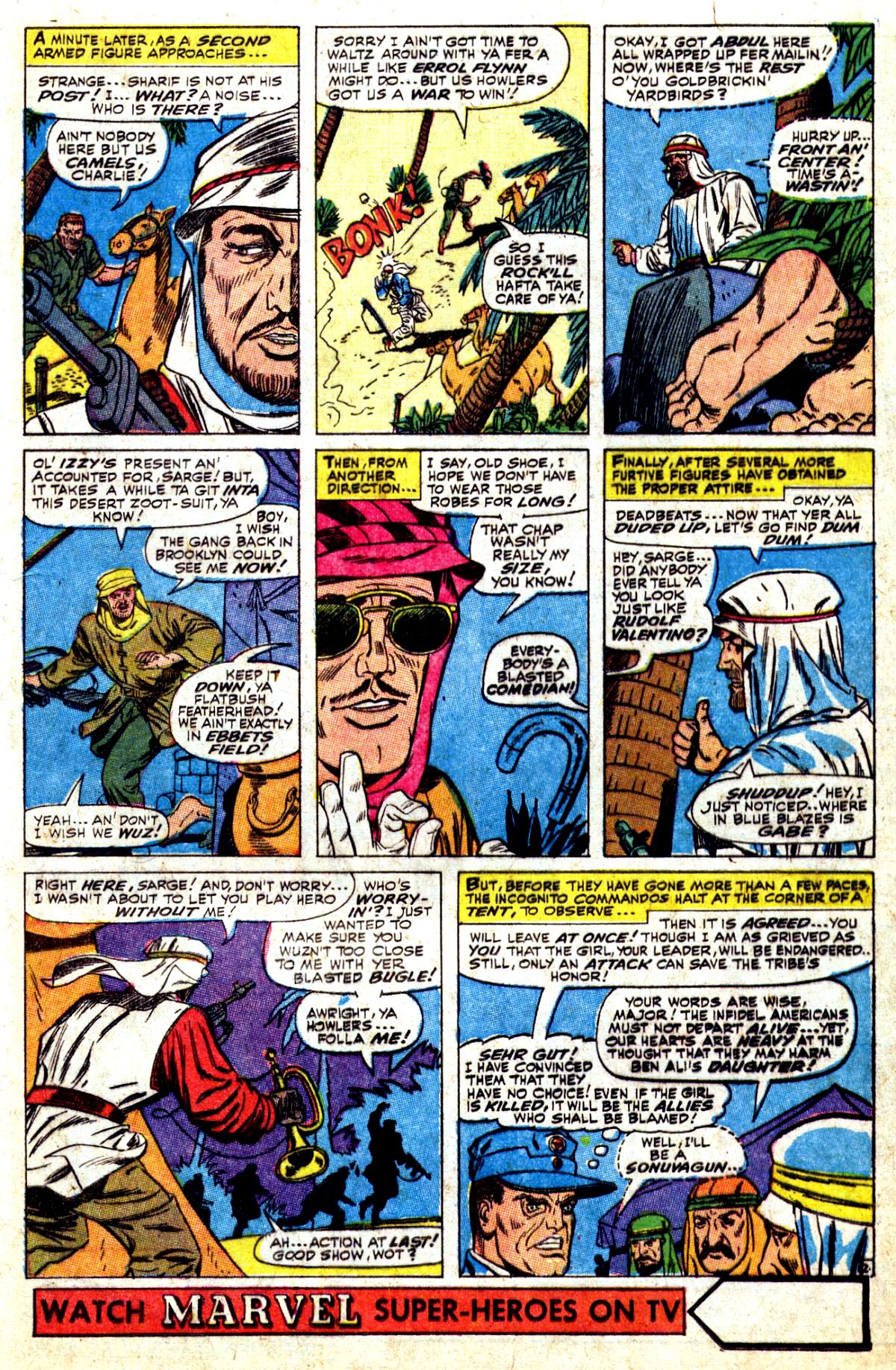 Read online Sgt. Fury comic -  Issue #37 - 17