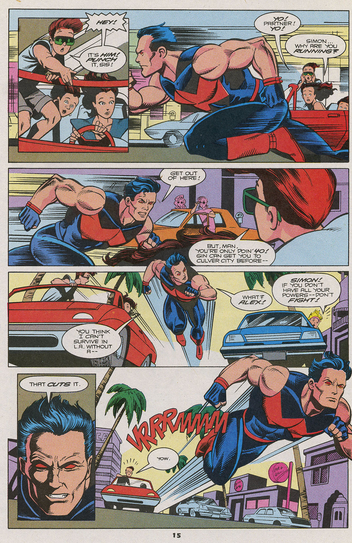 Read online Wonder Man (1991) comic -  Issue #11 - 11