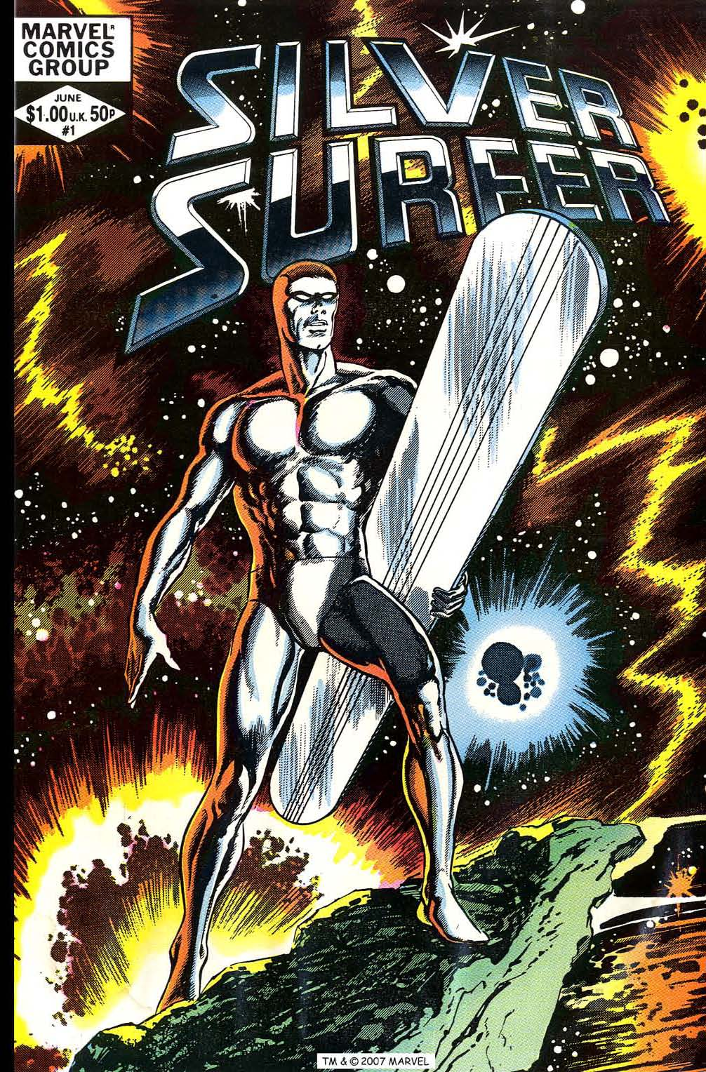 Read online Silver Surfer (1982) comic -  Issue # Full - 1