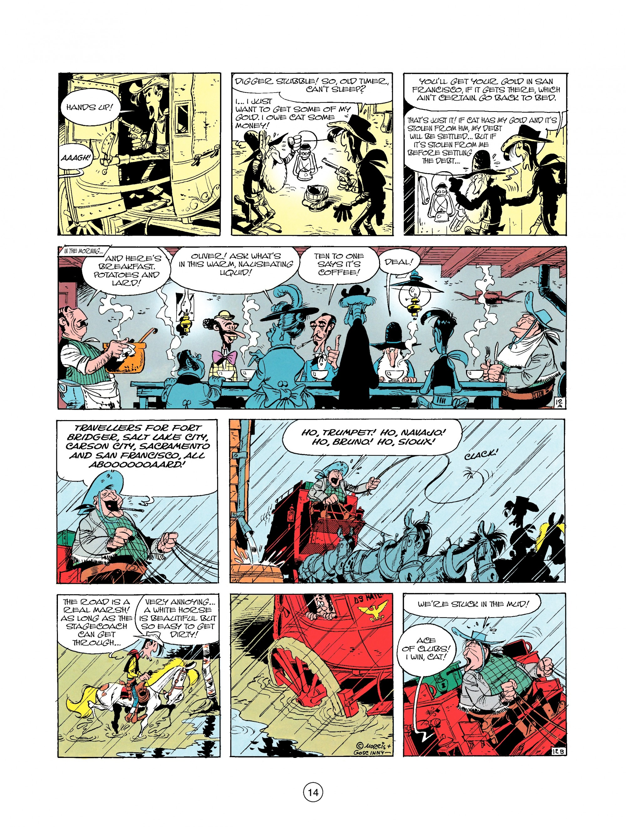 Read online A Lucky Luke Adventure comic -  Issue #25 - 14