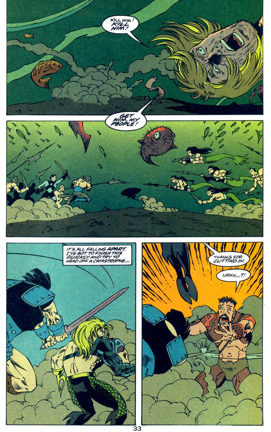 Read online Aquaman (1994) comic -  Issue #Aquaman (1994) _Annual 4 - 33