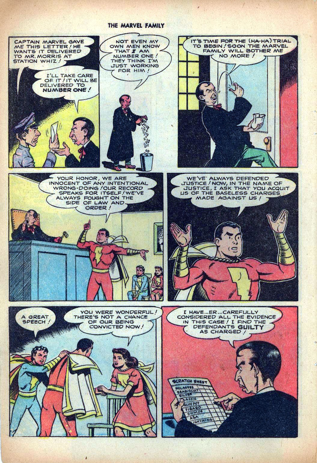 The Marvel Family issue 25 - Page 8