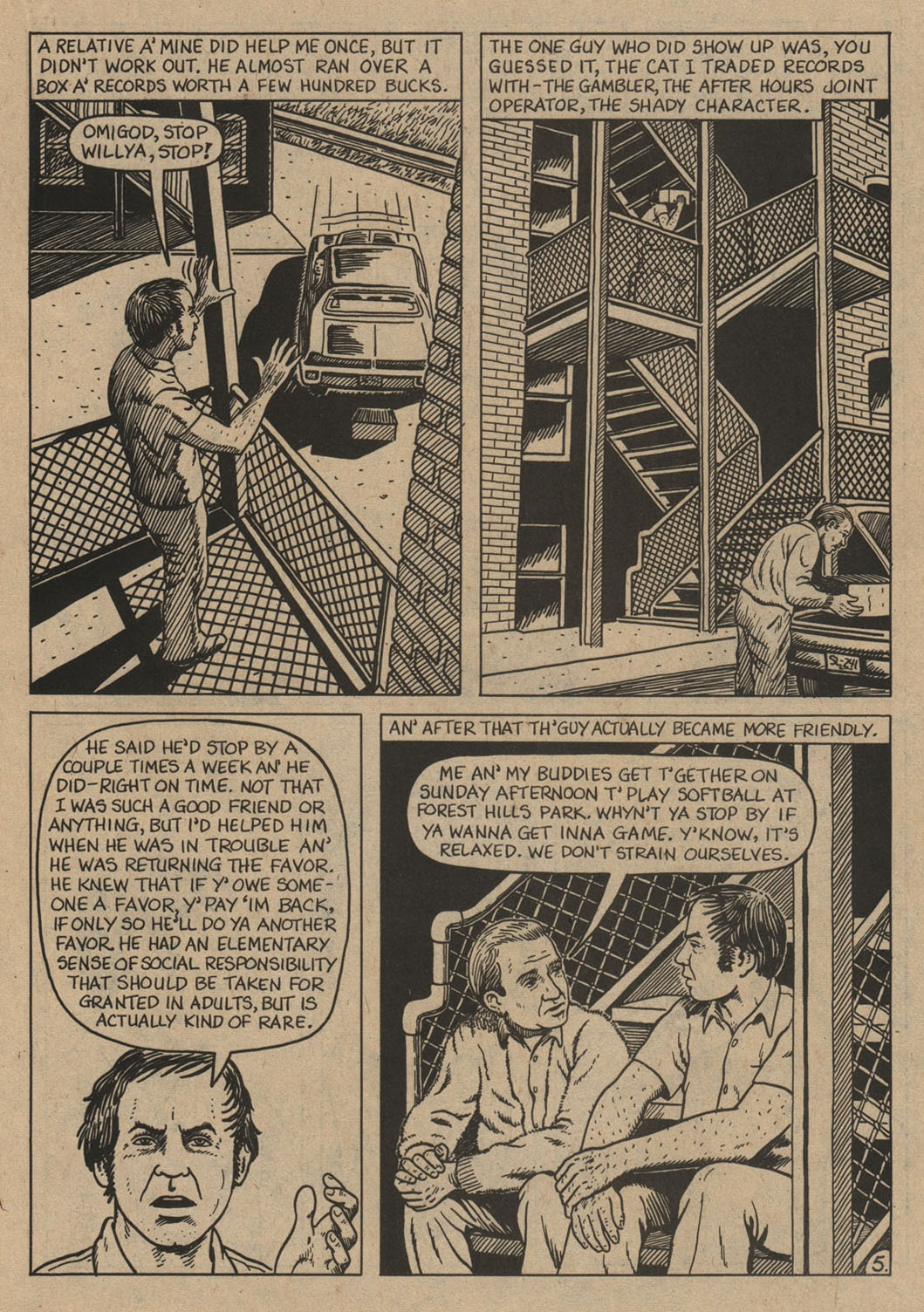 American Splendor (1976) issue 6 - Page 34