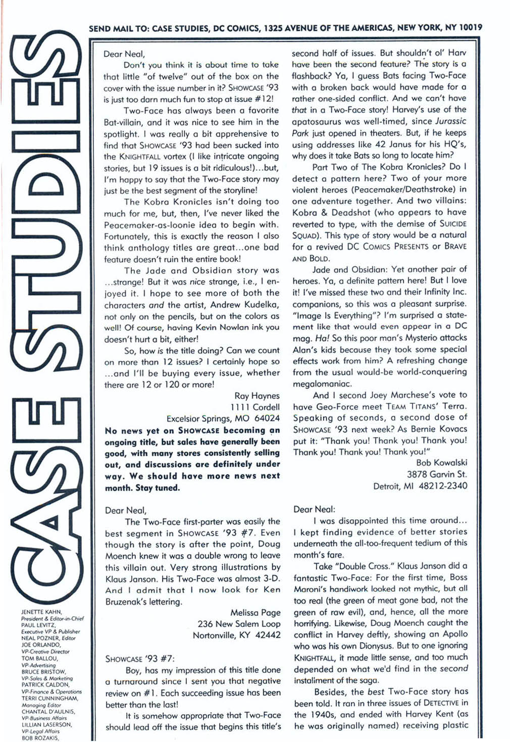 Read online Showcase '93 comic -  Issue #10 - 40