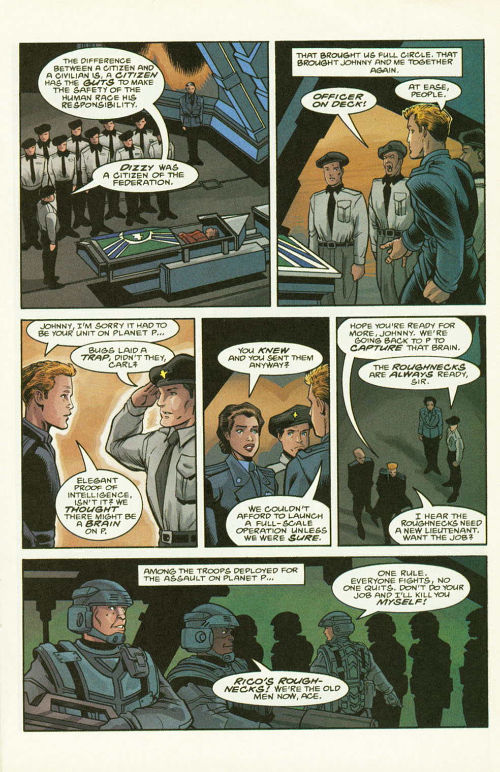 Read online Starship Troopers comic -  Issue #2 - 17