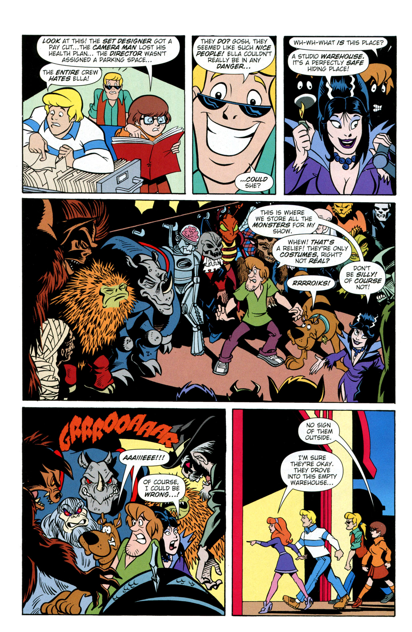 Read online Scooby-Doo: Where Are You? comic -  Issue #26 - 27