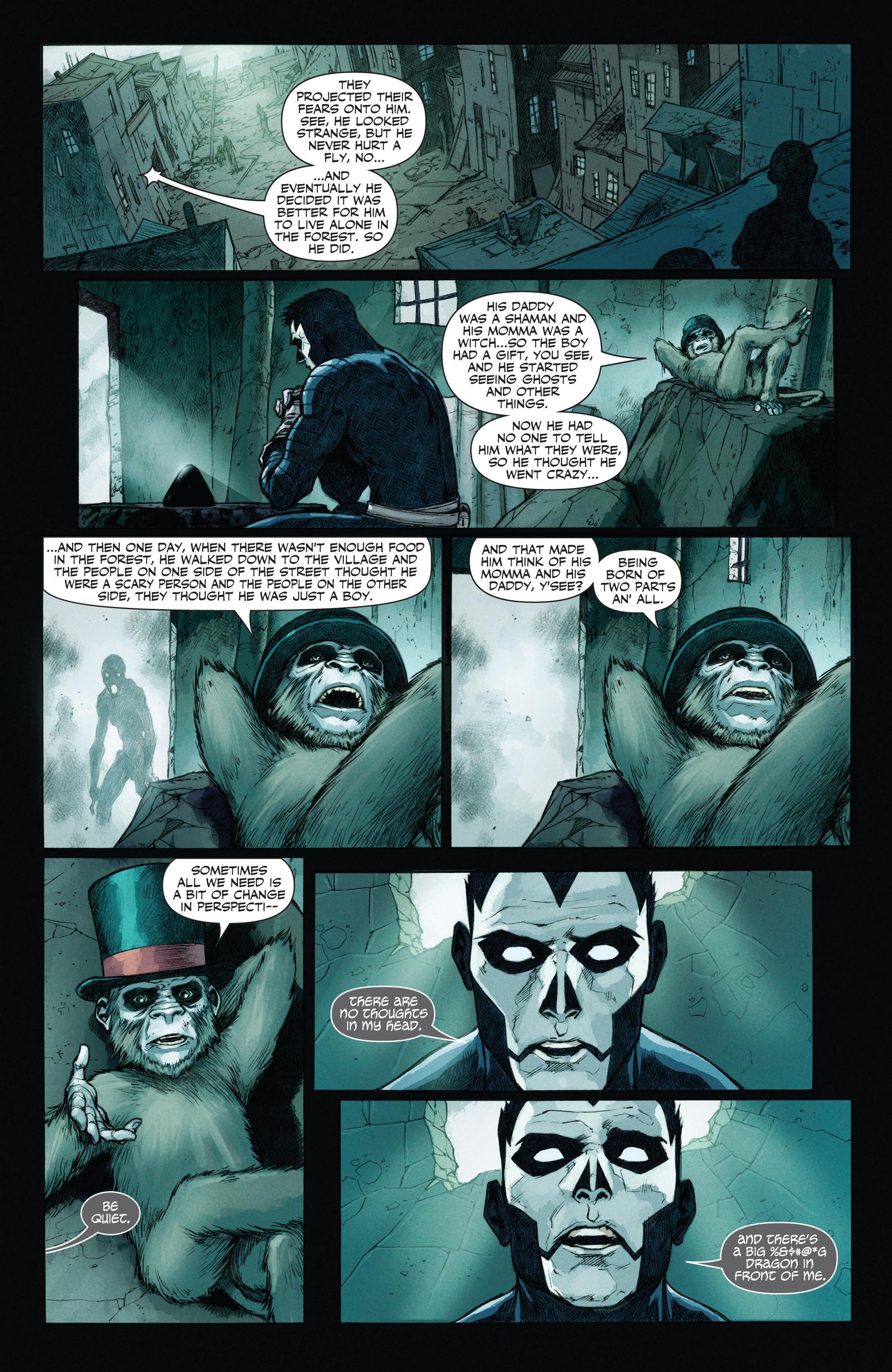Read online Shadowman (2012) comic -  Issue #12 - 7