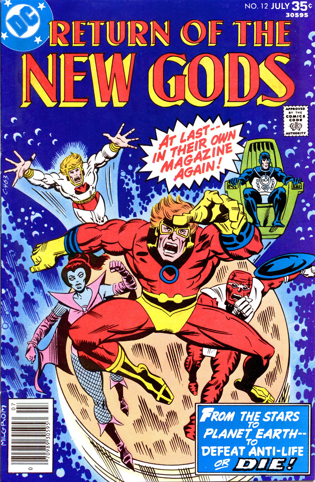 New Gods (1977) issue 12 - Page 1