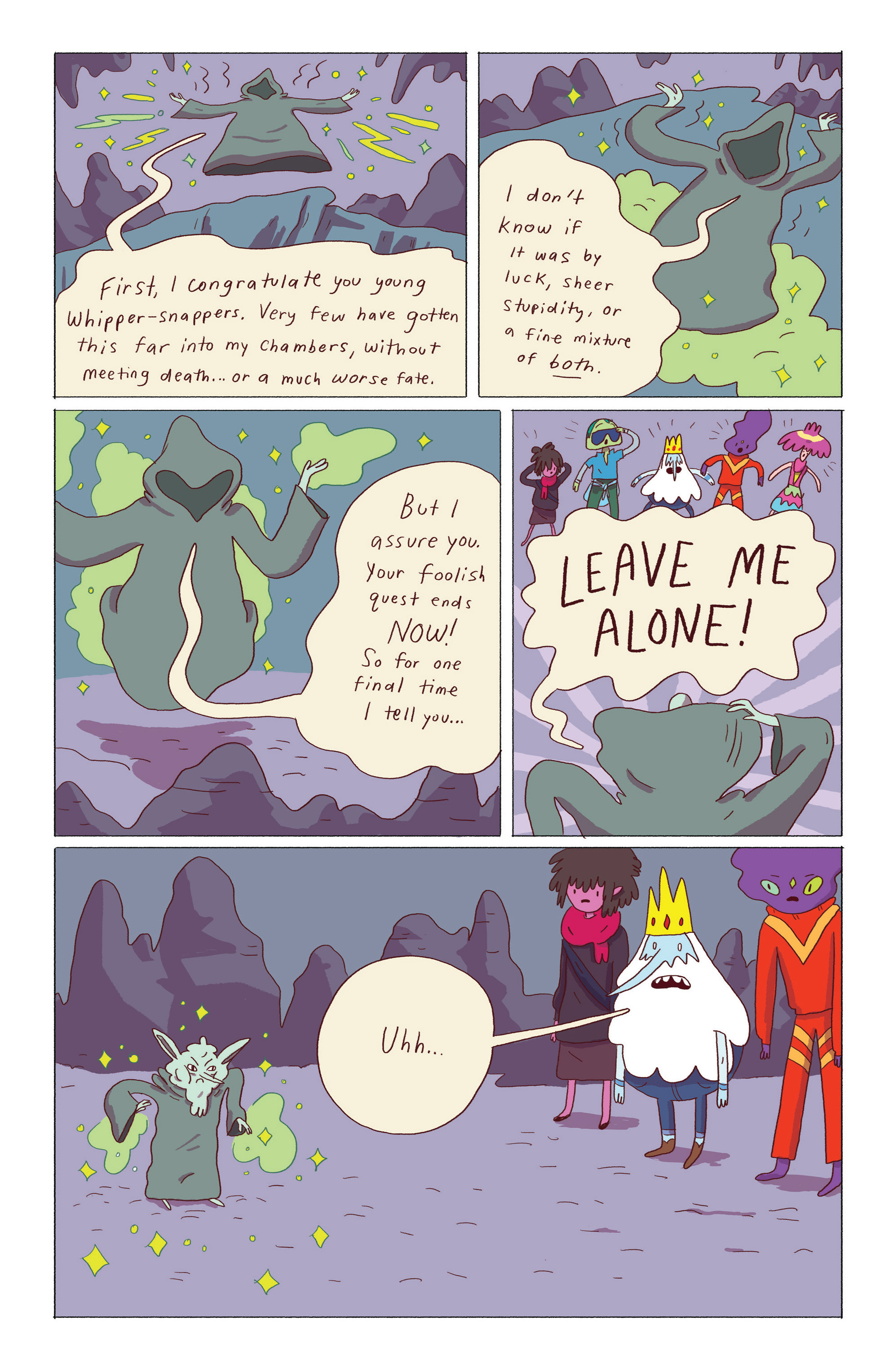 Read online Adventure Time: Ice King comic -  Issue #5 - 18
