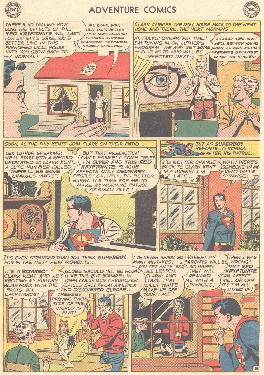 Read online Adventure Comics (1938) comic -  Issue #308 - 10