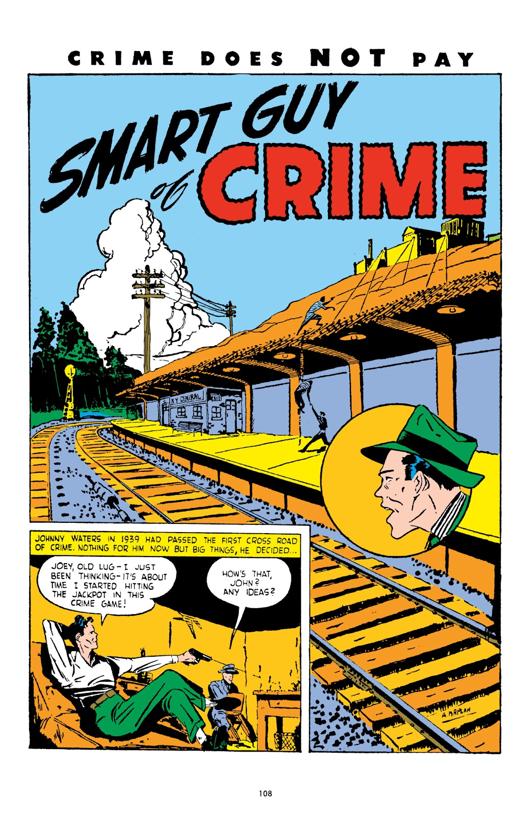 Read online Crime Does Not Pay Archives comic -  Issue # TPB 3 (Part 2) - 8