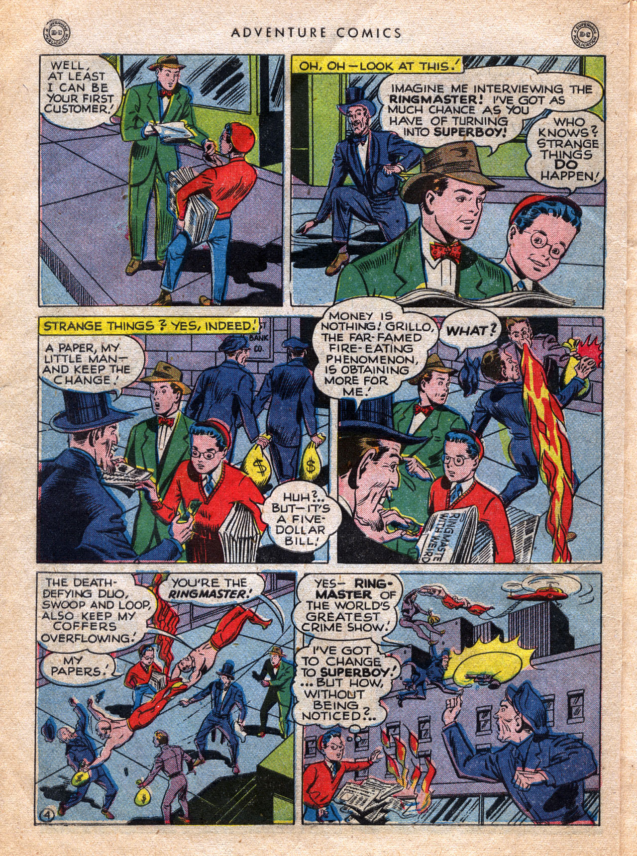 Read online Adventure Comics (1938) comic -  Issue #120 - 6