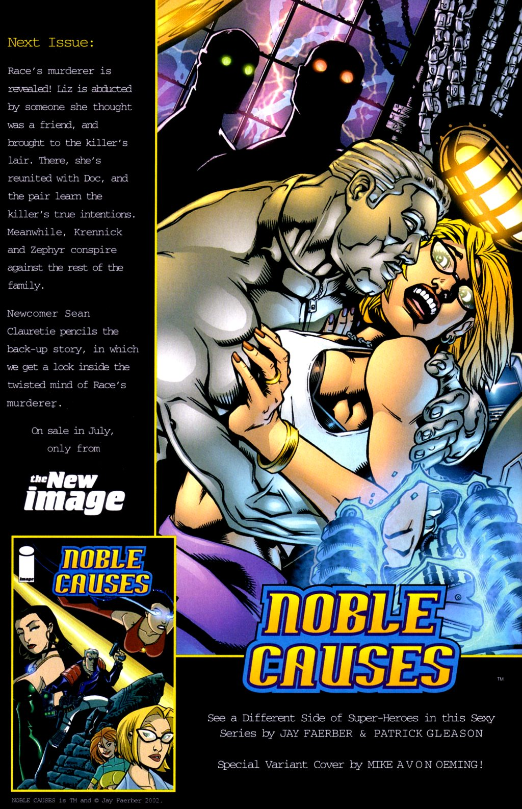 Read online Noble Causes (2002) comic -  Issue #3 - 25