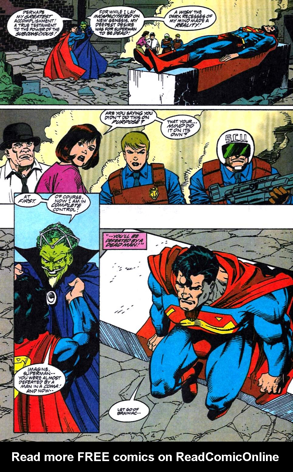Read online Adventures of Superman (1987) comic -  Issue #519 - 5