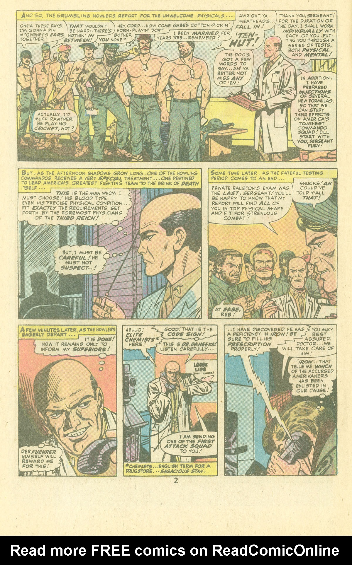 Read online Sgt. Fury comic -  Issue #134 - 4