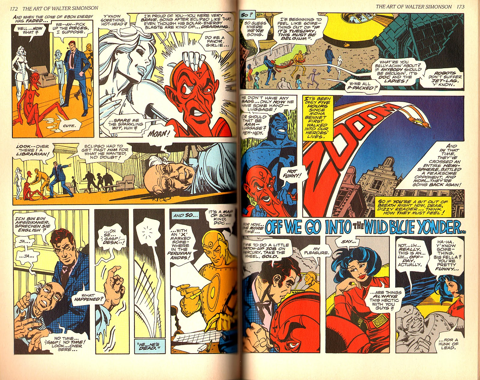 Read online The Art of Walter Simonson comic -  Issue # TPB - 88