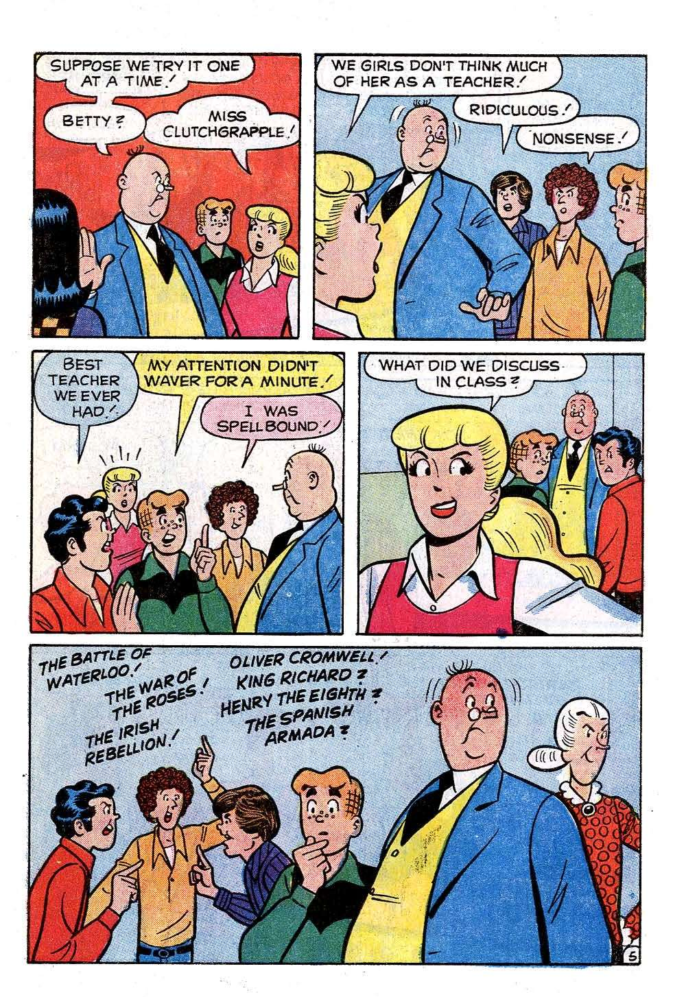 Read online Archie (1960) comic -  Issue #231 - 7