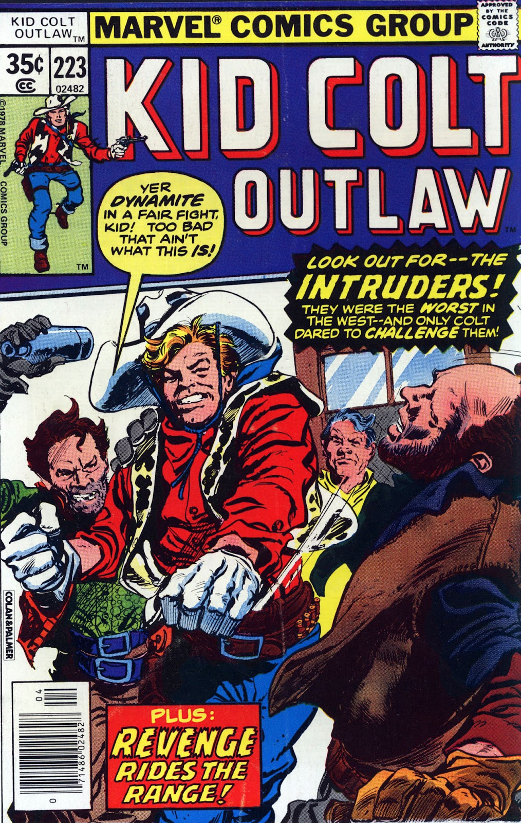 Kid Colt Outlaw issue 223 - Page 1