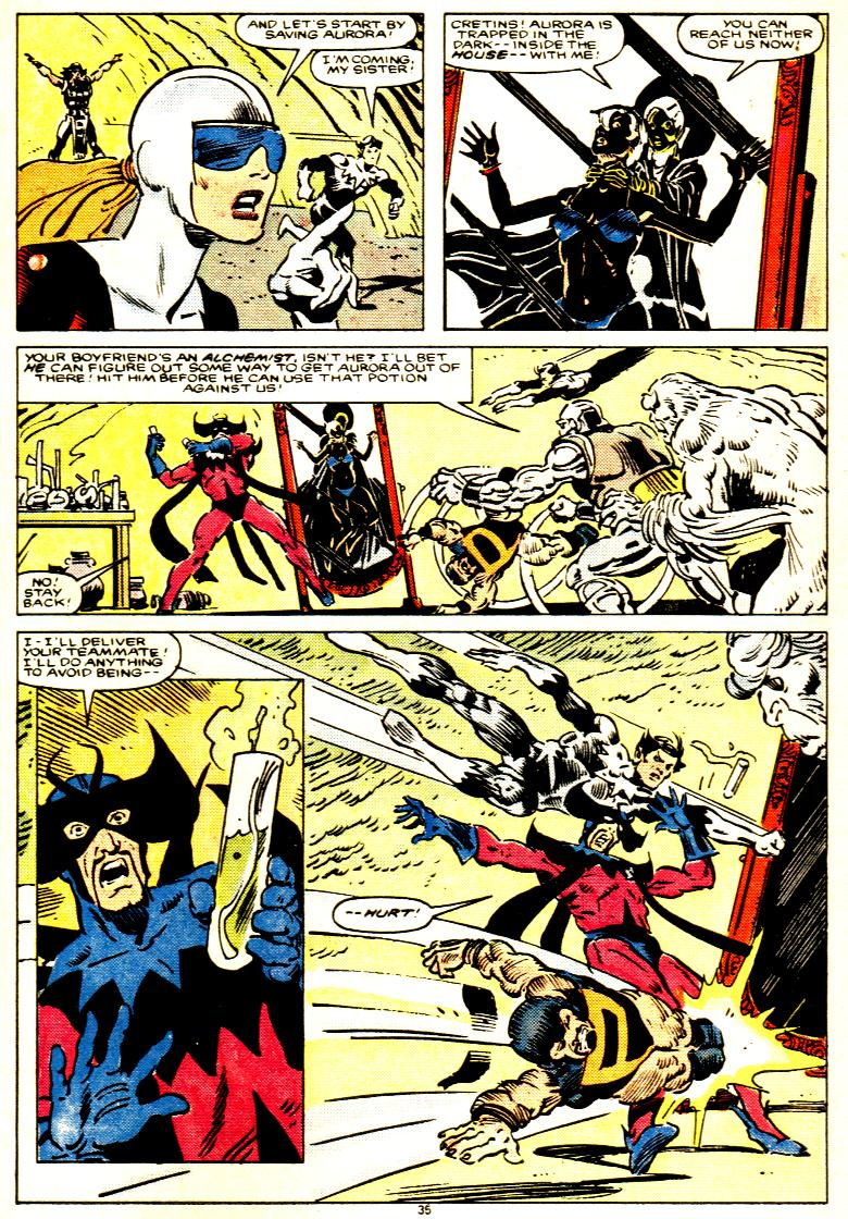 Read online Alpha Flight (1983) comic -  Issue # _Annual 1 - 36