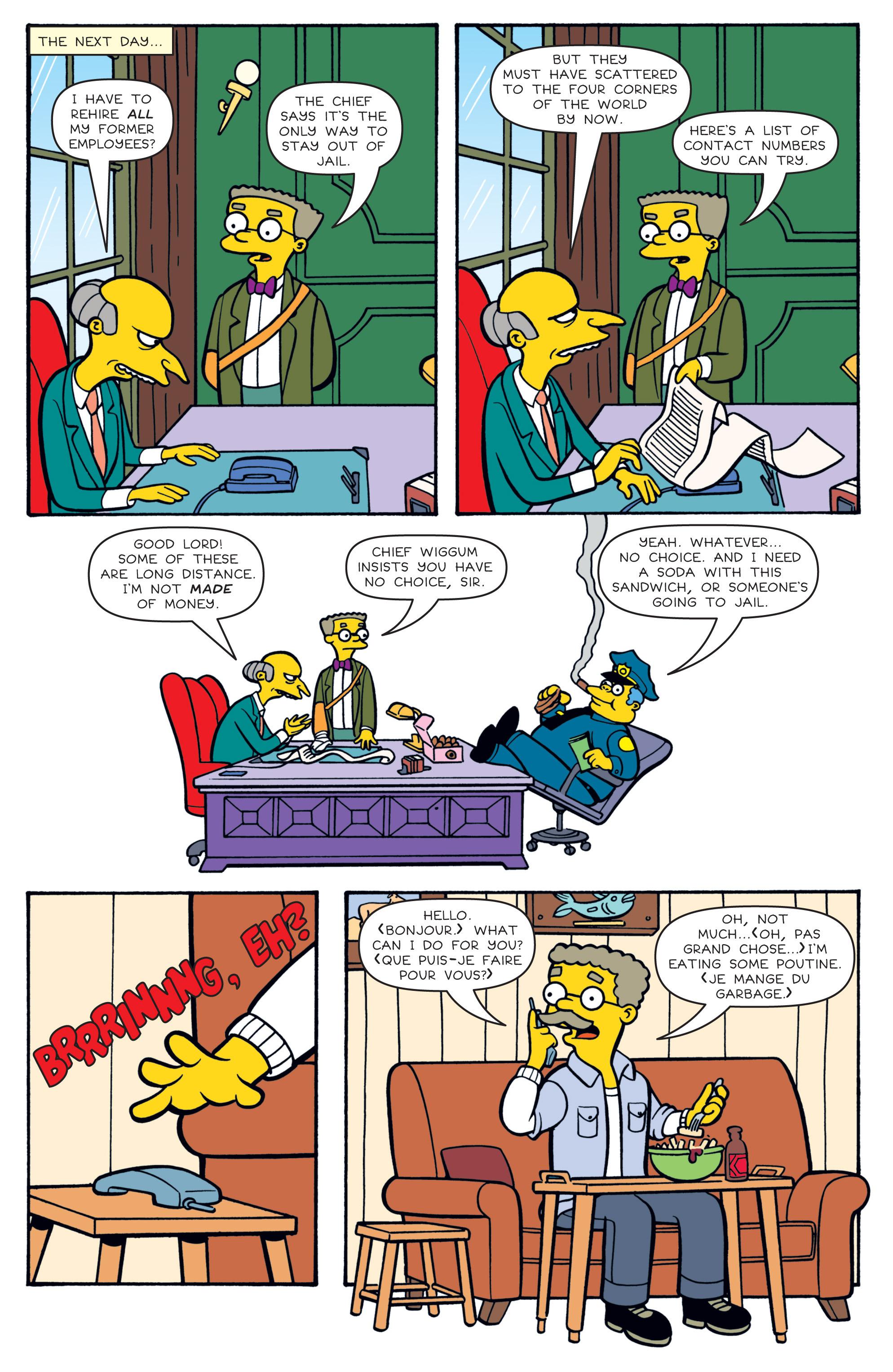 Read online Simpsons Comics comic -  Issue #180 - 19