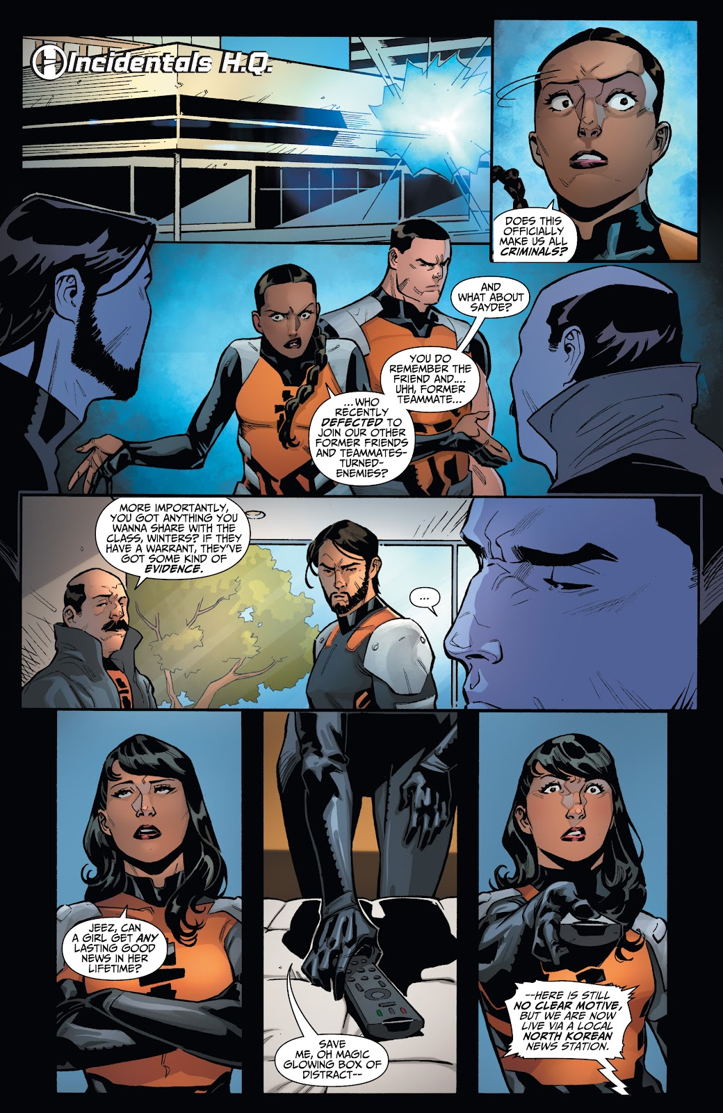 Read online Incidentals comic -  Issue #18 - 8