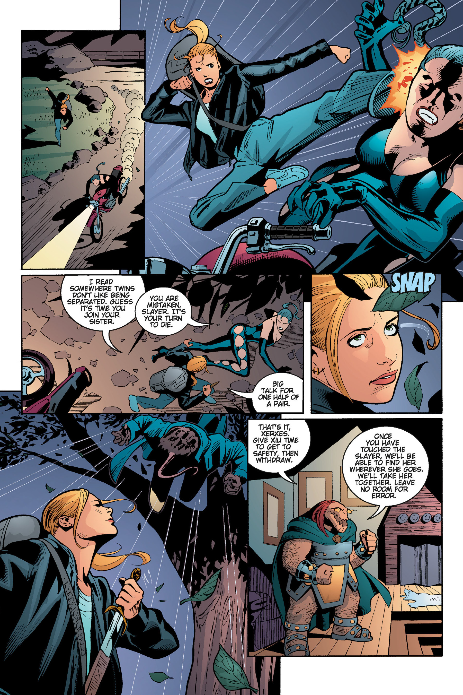 Read online Buffy the Vampire Slayer: Omnibus comic -  Issue # TPB 5 - 173