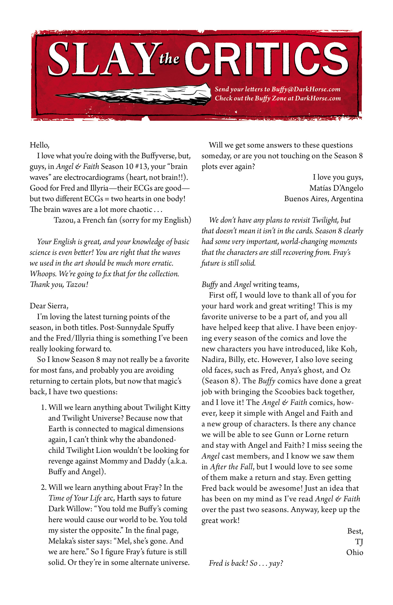 Read online Angel & Faith Season 10 comic -  Issue #15 - 25