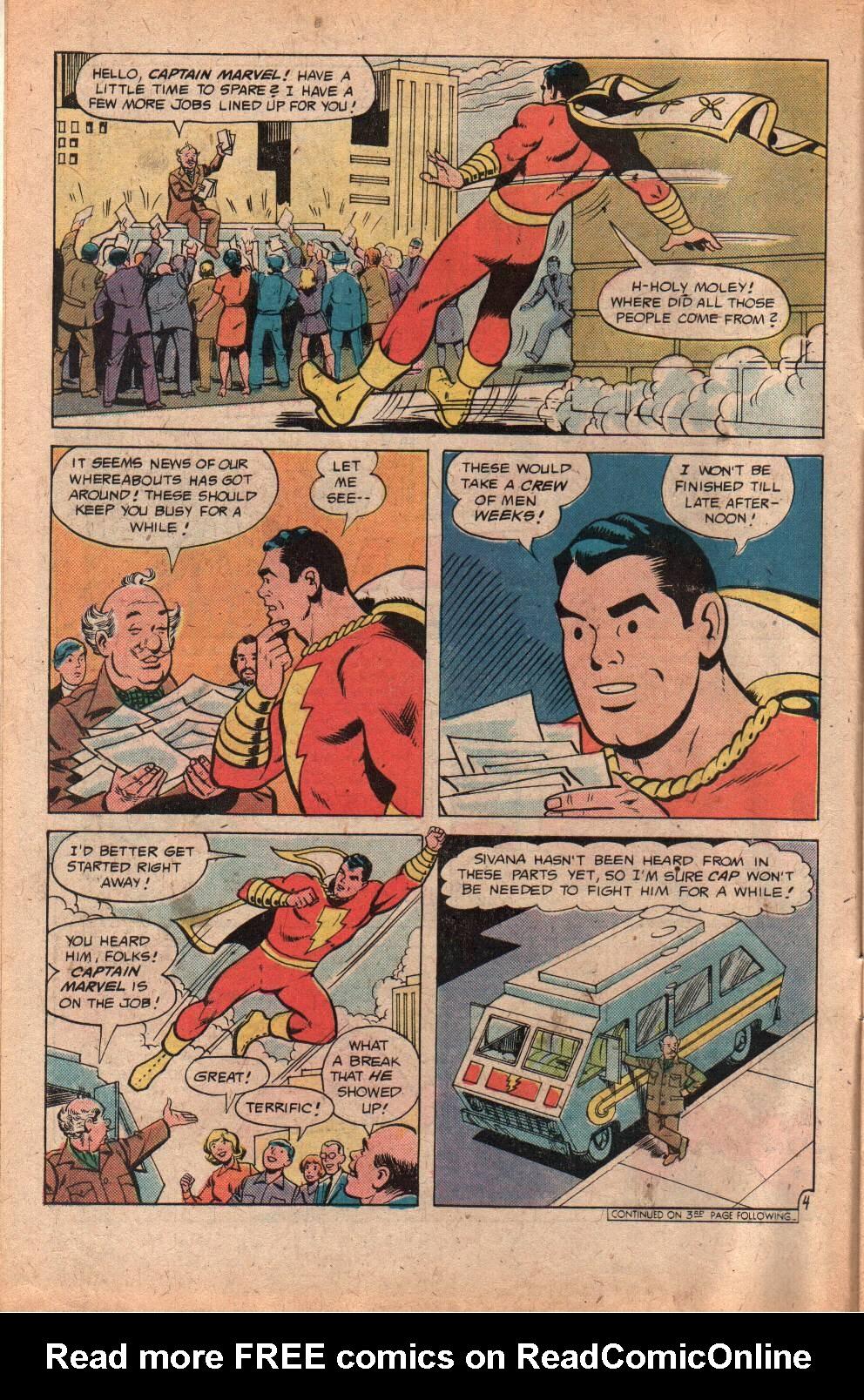 Read online Shazam! (1973) comic -  Issue #29 - 6